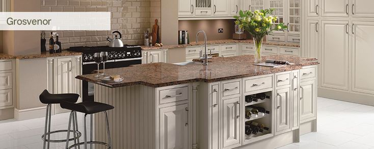Buy a Schreiber Grosvenor kitchen from Homebase Helping to Make Your House a Home