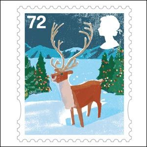 England Postage Stamps   First Class Stamp - Christmas Stamp   World Stamps Pictures