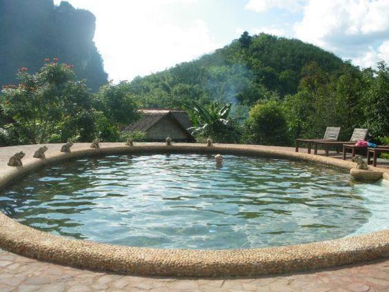 Cliff and River Jungle Resort - Khoa Sok National Park, Thailand