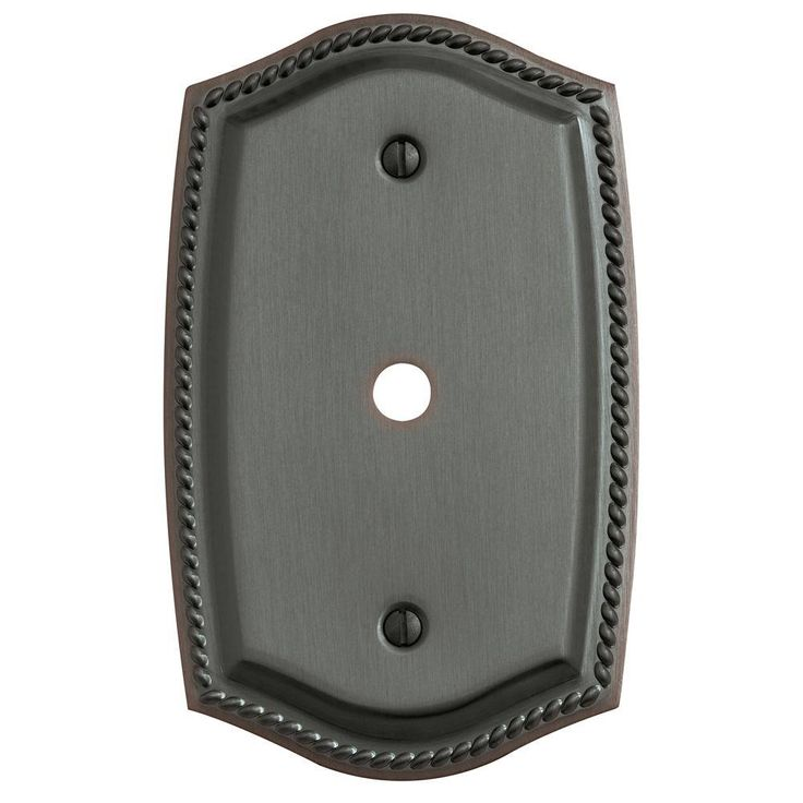rope 1 cable cover wall plate venetian bronze