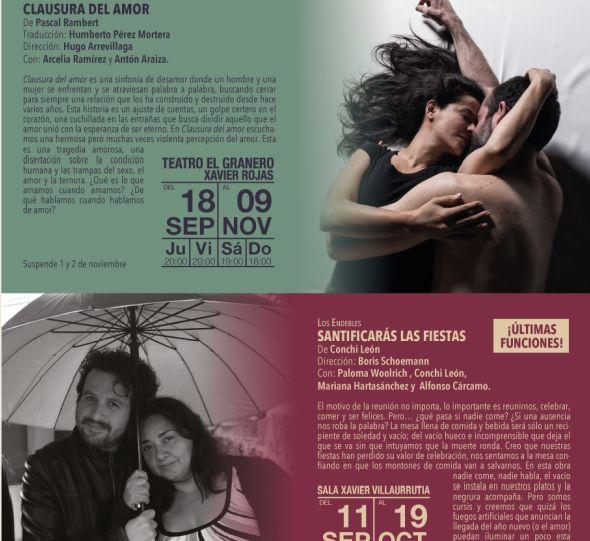 Cartelera DF: Cartelera Centro Cultural del Bosque Octubre/Dicie...