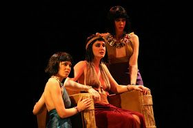 Photos: Mikki Schaffner  Robyn Novak being Cleopatra in Shakespeare's Antony and Cleopatra  at Northern Kentucky University on December 1-11...