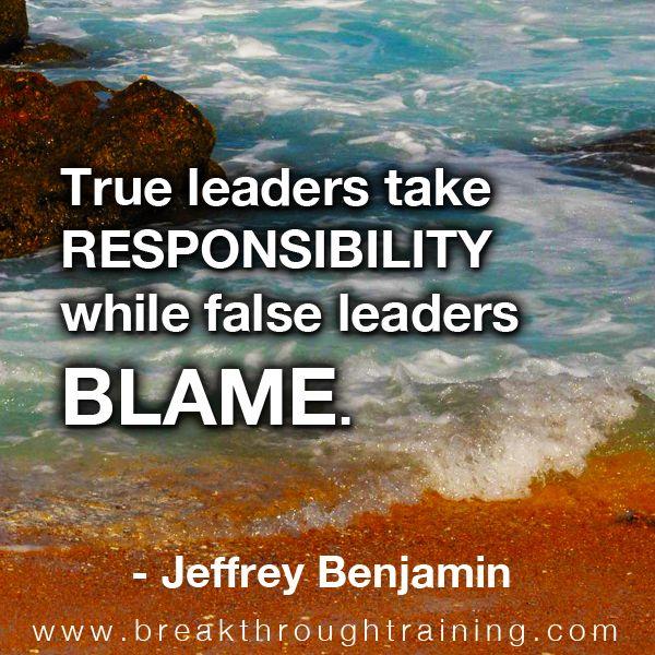 False Blame Quotes by @quotesgram