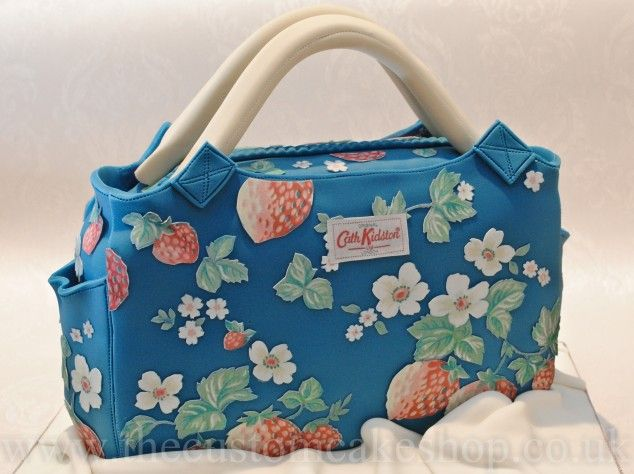 Strawberry day bag, in stunning detail.  #cathkidston #cake #CK20yrs