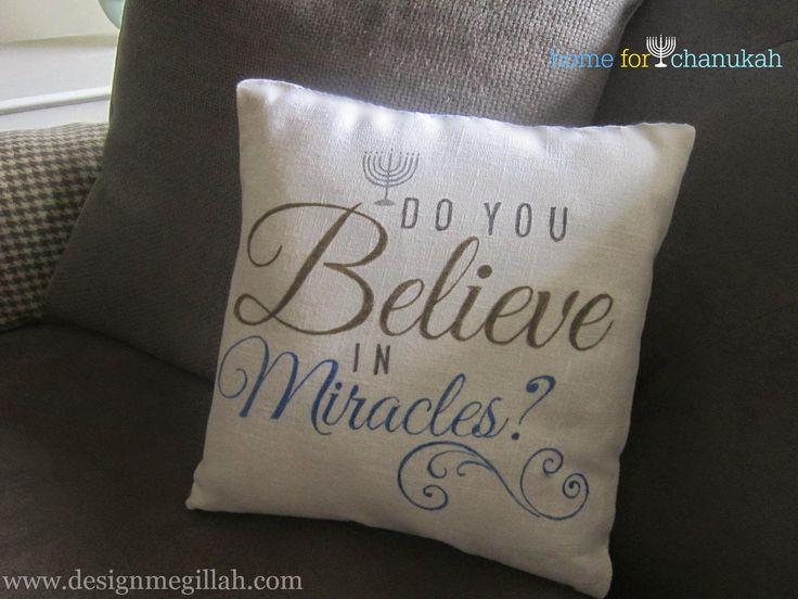 Love this project! Make A Chanukah Pillow, @ritamb
