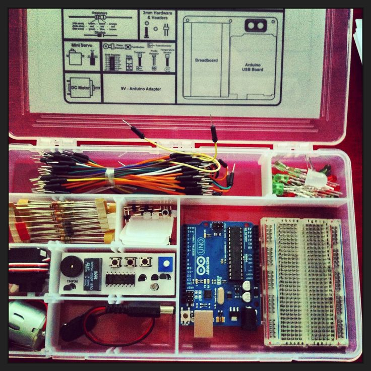Arduino experimentation kit