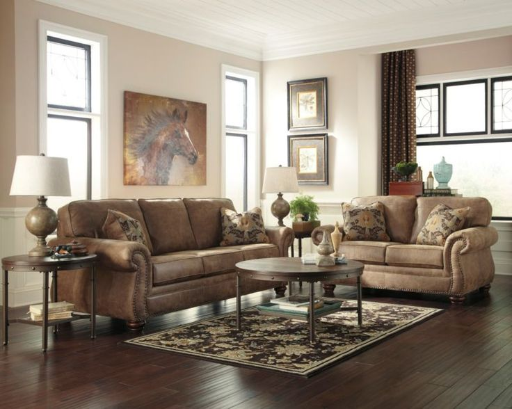 New ashley larkinhurst traditional style classic sofa couch and loveseat setBest 25  Couch and loveseat set ideas on Pinterest   Spare bedroom  . Loveseat For Bedroom. Home Design Ideas