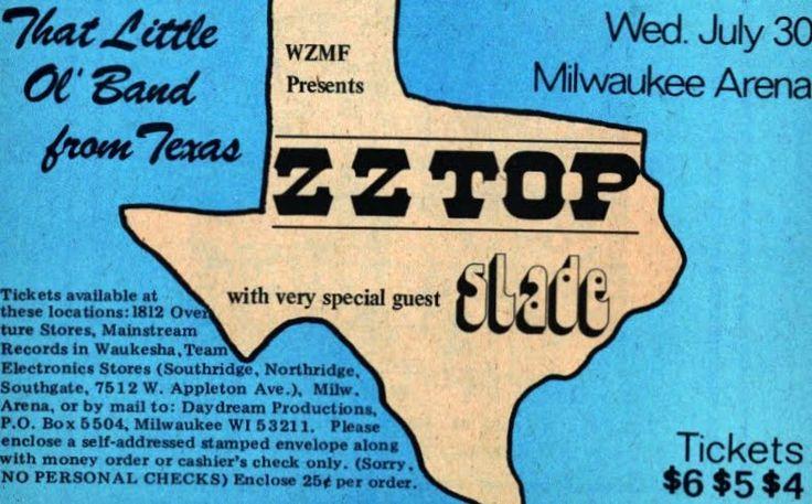 Slade USA tour #70s #keeponrockin