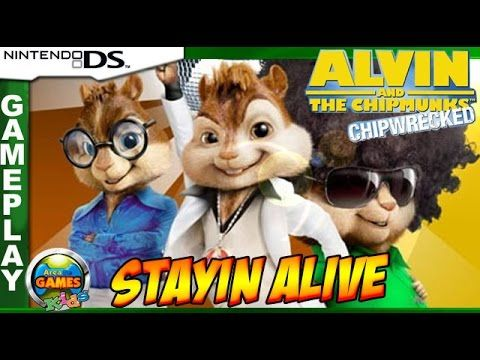 Alvin and the Chipmunks - Stayin Alive [Nintendo DS]
