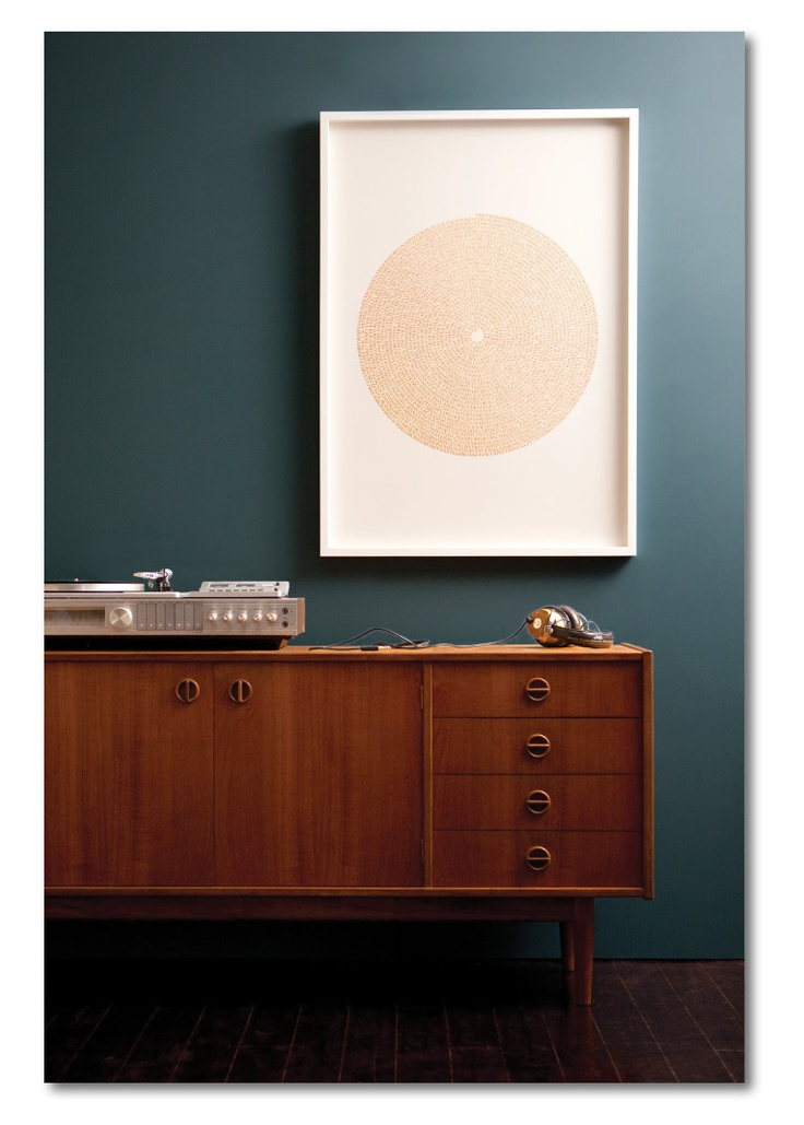 WALL of SOUND - Gold Record |Gold Foil Stamped Limited Edition Print by Marika Järv