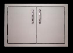 The quickest way to add stylish storage to your outdoor kitchen. Two doors on an easy to mount frame. Two sizes available. BKDS  or  BKDL