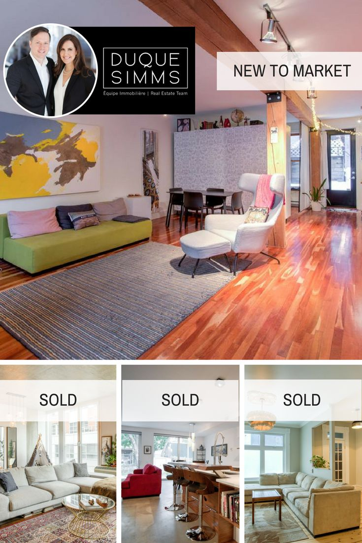 February 2018 recap at Duquesimms - 3 sales and 1 new condo on the market! Our expertise and know-how produce results.  #Montreal #RealEstate #Realtors #Brokers #Duquesimms #MontrealRealEstate