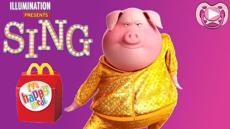 Surpresas divertidas da Happy Meal - Personagens do filme Sing
