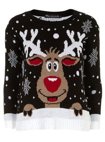 Christmas Reindeer Jumper
