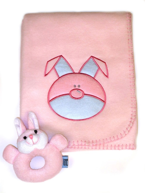 Baby Rabbit Fleece Blanket