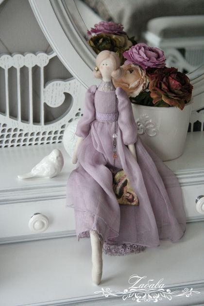Куклы Тильды ручной работы. Ярмарка Мастеров - ручная работа Кукла в стиле Тильда Флер. Handmade.