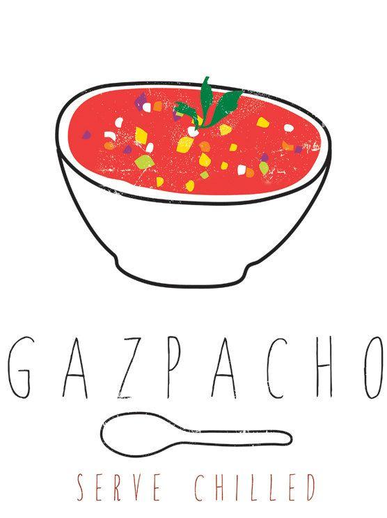 Gazpacho graphic via Etsy.