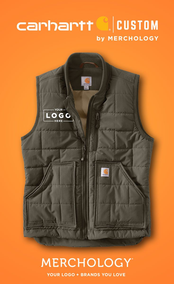 9d614f168ac Add your logo to Carhartt Vests, Jackets, & More! | Carhartt ...