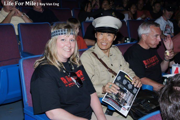 Actor Stephen Chang at Hope Cinema Screening of Rambo: First Blood, Rambo Bridge Final Take in Hope BC Bid an Emotional Farewell with Nostalgic Fans As Actor Stephen Chang Promoted New Movie 'Life For Mile'. www.hopebc.ca