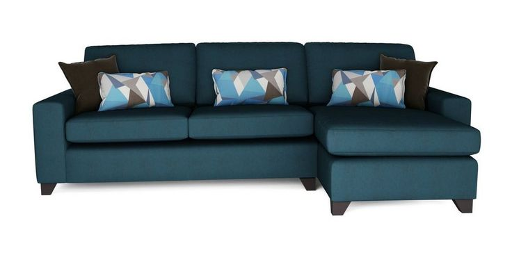 Lustre Right Hand Facing Chaise End 3 Seater Sofa | DFS Banken