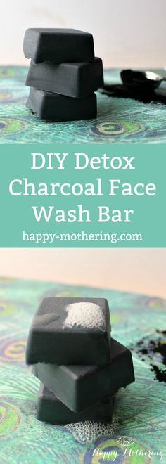 Are you looking for an easy way to detox your skin? This DIY Detox Charcoal Soap Face Wash Bar is an easy way to detox during your normal beauty routine.