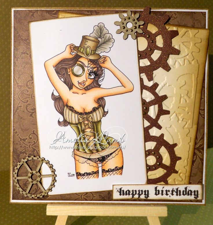 Milly's Cards: The Stamping Chef - The Big Teese http://thestampingchef.com/Shop/