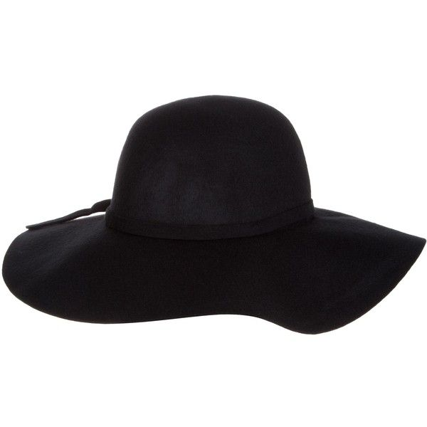 Dorothy Perkins Felt Floppy Hat found on Polyvore