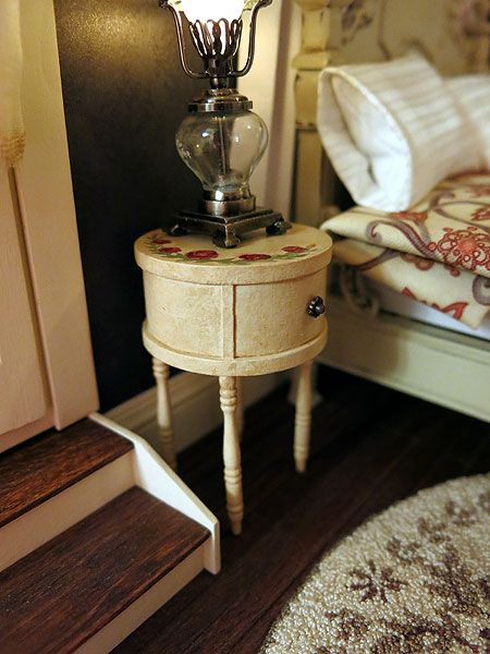 FABULOUS TUTORIALS - She also shows how she simply made this bedside table. otterine.com blog