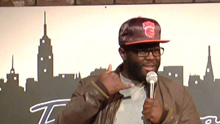 REGINAL THOMAS (Broadway Comedy Club) March 4, 2014 - http://comedyclubsnyc.xyz/2016/11/09/reginal-thomas-broadway-comedy-club-march-4-2014/