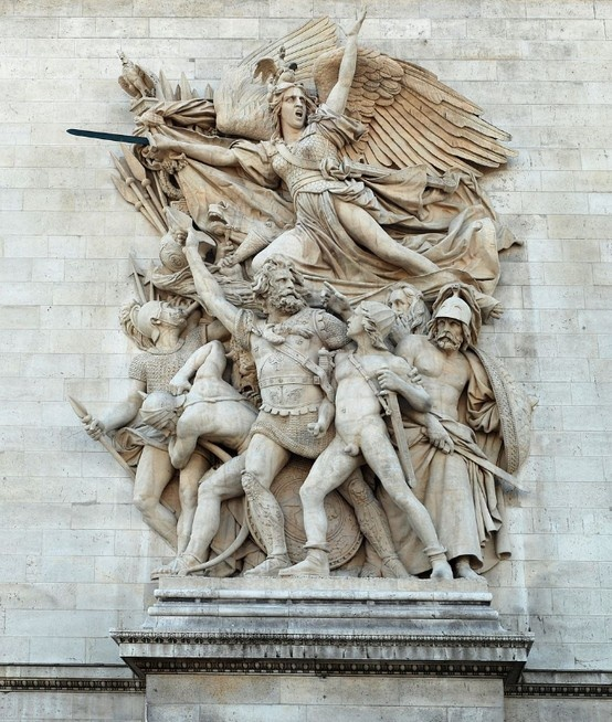 The Friezes of the Arc de Triomphe | The Departure of the Volunteers of '92 commonly called La Marseillaise. François Rude