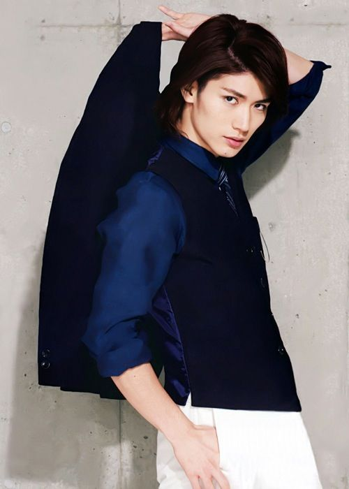 Haruma Miura---mixing it up with a Japanese cutie.
