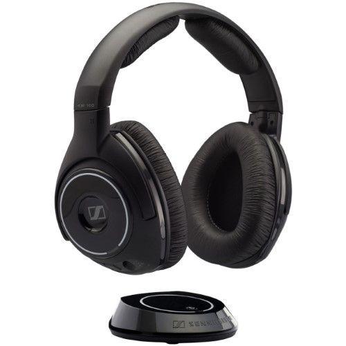 Sennheiser - 504250 - Sennheiser HDR 160 Headphone - Stereo - Wireless - RF - 65.6 ft - 32 Ohm - 18 Hz 21 kHz -