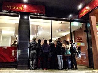 Mamak, 366 Lonsdale St City. Dinner til 10pm. Roti
