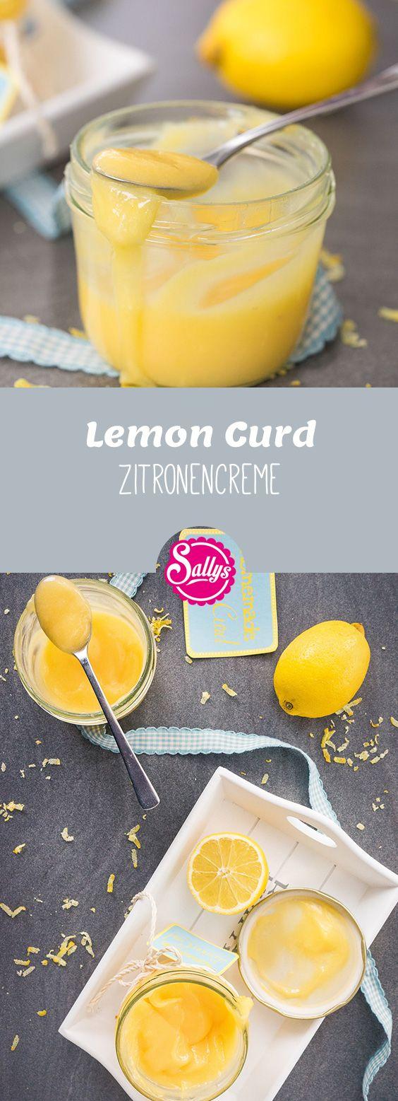 Lemon Curd ist eine Zitronencreme, die wunderbar als Brotaufstrich oder Tortenfüllungen verwendet werden kann.