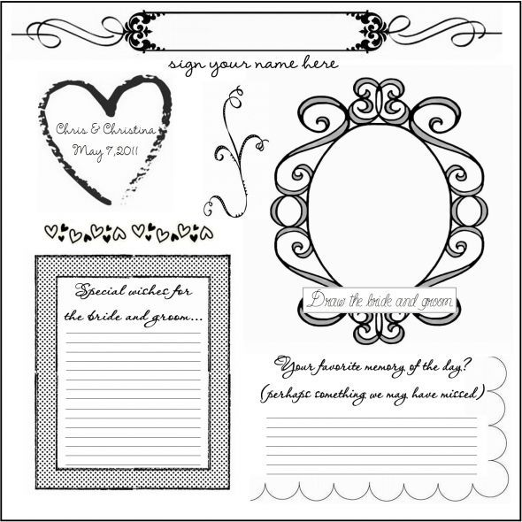 34 best images about dyi printable wedding guest book alternative templates on pinterest signs. Black Bedroom Furniture Sets. Home Design Ideas
