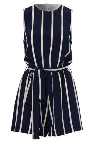 Nautical Stripe Playsuit – KOOKAÏ