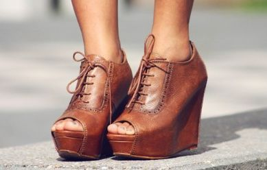 : Shoes, Leather Wedges, Style, So Cute, Closet, Cowboys Boots, Peeps Toe Wedges, Fall Wedges, Oxfords Wedges