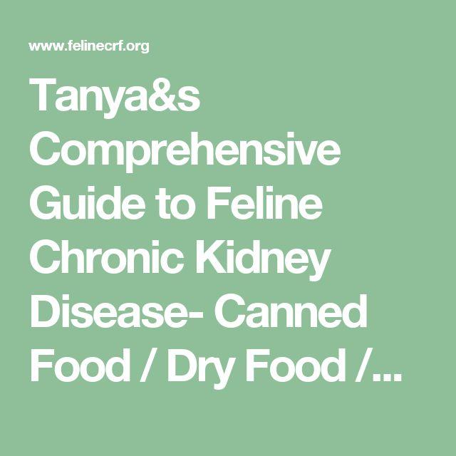 Tanya&s Comprehensive Guide to Feline Chronic Kidney Disease- Canned Food / Dry Food /prescription. Phosphorus Data USA for cats with CKD #kidney failure #cathealth #Phosphorus #ckd #foodbrands