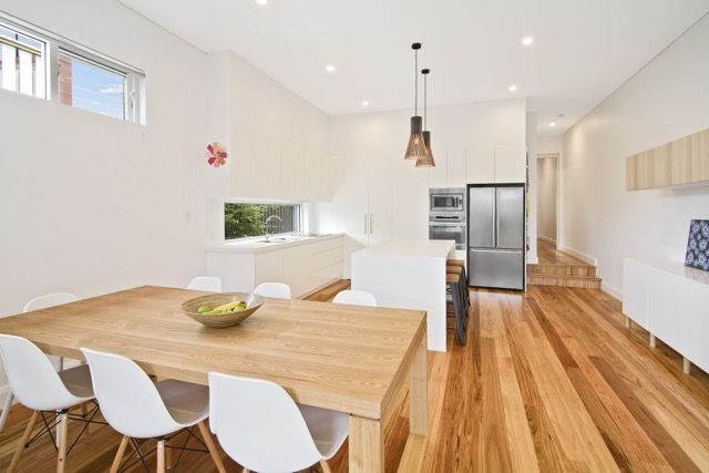 Modern Open Plan Living in our 6 metre wide semi attached home