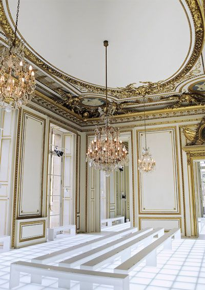 detailing and gold molding