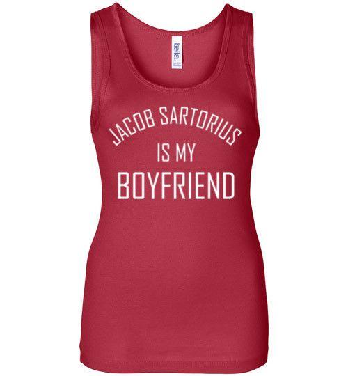 Jacob Sartorius is my Boyfriend Tank Top