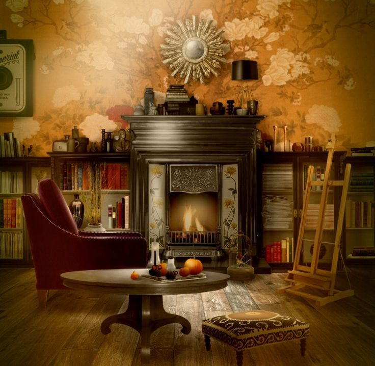'#bythefireplace #AutumnTastic - it's getting colder outside....' created in #neybers