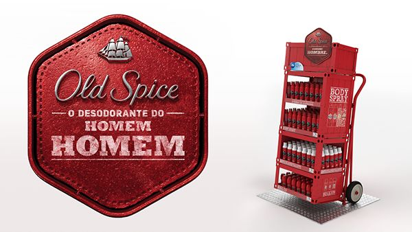 Old Spice - Material de PDV on Behance