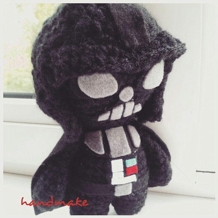 Darth Vader #handmake #handmade #crochet #amigurumi #toy #starwars #darthvader #etsy #etsyfind #souvenir #ручнаяработа #амигуруми #игрушка #сувенир #дартвейдер #звездныевойны