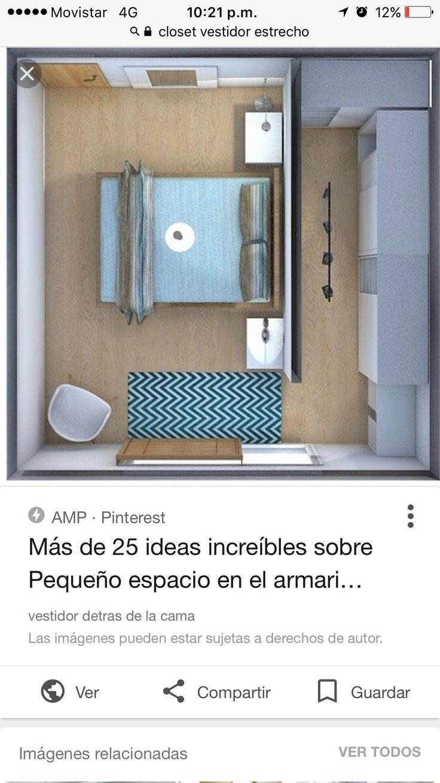 Ich mag die Idee einer Wand, die den Zugang zum Schlafzimmer trennt, anstatt …