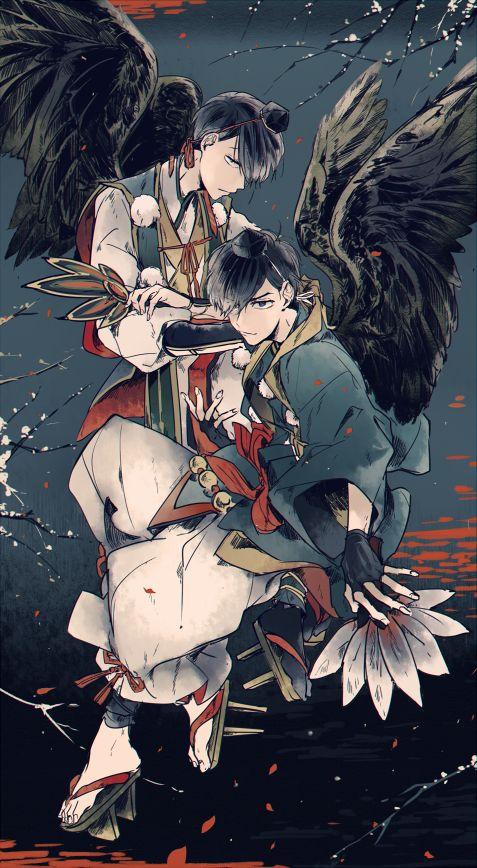 Osomatsu-san Choromatsu & Karamatsu #Anime「♡」Youkai Ver