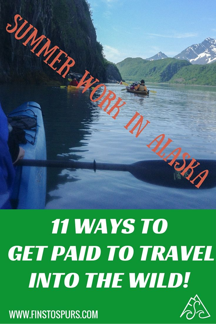 Get the experience of a lifetime while getting PAID to travel by taking summer work in Alaska… even if you have never been to the state! No experience required, tons of different opportunities to work and live an adventure!  Check out the jobs fast before hiring season is completed!
