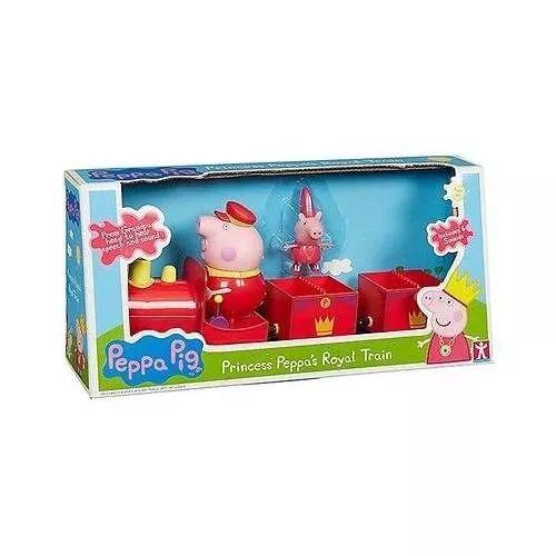 Peppa Pig Princess Peppa´s Royal Tren C Sonido - $ 1.299,99