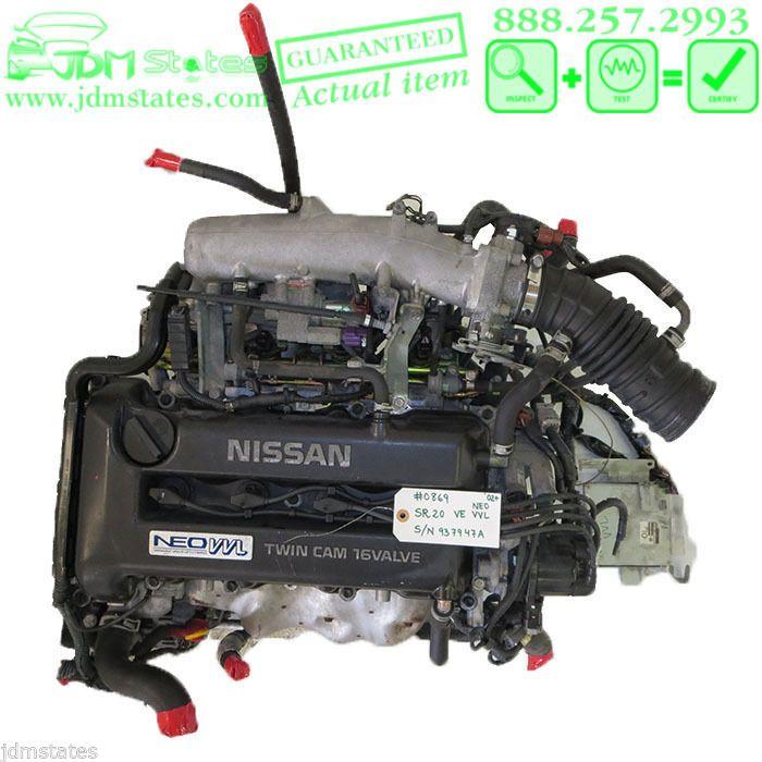 JDM Nissan Primera Sentra SR20VE NEO VVL 2.0L SR20-VE