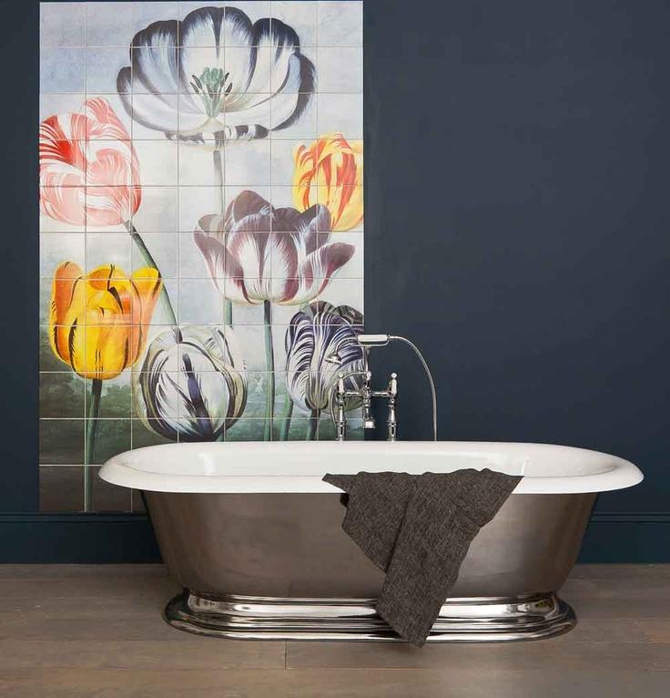 Bathroom tile designs can make a big